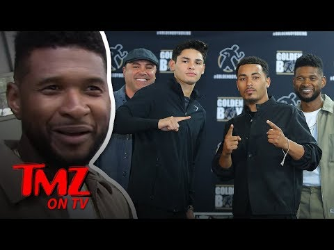 Is Usher A Boxing Promoter Now?  TMZ TV