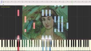 Я полюбила Вас - Земфира (Ноты и Видеоурок для фортепиано) (piano cover)