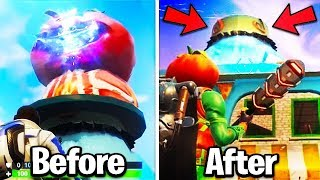 *NEW* SEASON 5 PORTALS FOUND! *leaked* (Fortnite Season 5 Map Changes Tomato Town Head GONE Live)