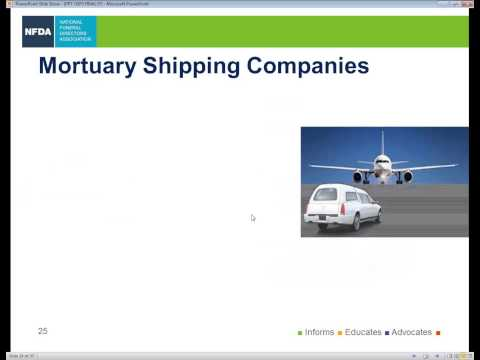 Webinar - USPS Requirements Shipping Cremated Remains