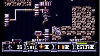 Atari ST - Turrican II - Stage 4-2