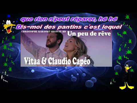 Vitaa & Claudio CapéoUn peu de rêve