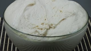 Pizza Dough, Italian Traditional Recipe