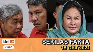Zahid dan Tok Mat ada pandangan sendiri , Rosmah dapat pasport buat sementara | SEKILAS FAKTA
