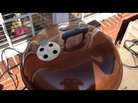 Weber One Touch Gold Food Capacity