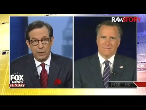 Chris Wallace grills Mitt Romney for
