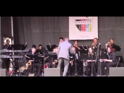 Hilton High School Jazz Ensemble - Squatty Roo - Rochester NY - June 23, 2017