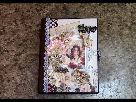 PART 1 TUTORIAL *See Note/Comment area PRIMA TALES OF YOU AND ME MINI ALBUM   DESIGNS BY SHELLIE