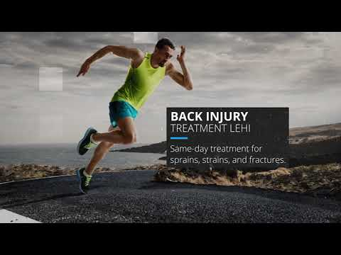 Treatment from Orthopedic Physicians in Lehi for your Back Injury