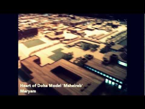 Heart of Doha Model 'Msheireb'