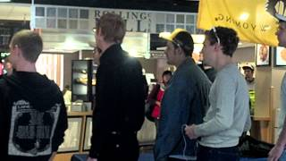 UNIVERSITY OF WYOMING SINGING STATESMEN FLASH MOB