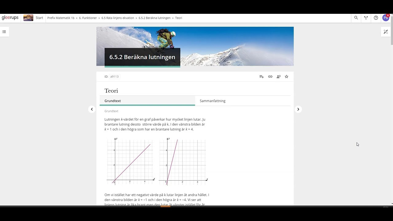 Prefix matematik 1b digitalt läromedel - Digitala verktyg