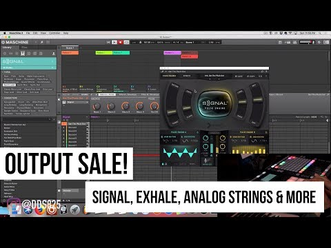 Output Beat Making (Exhale, Signal, Analog Brass & Wind, & More) + Sale!