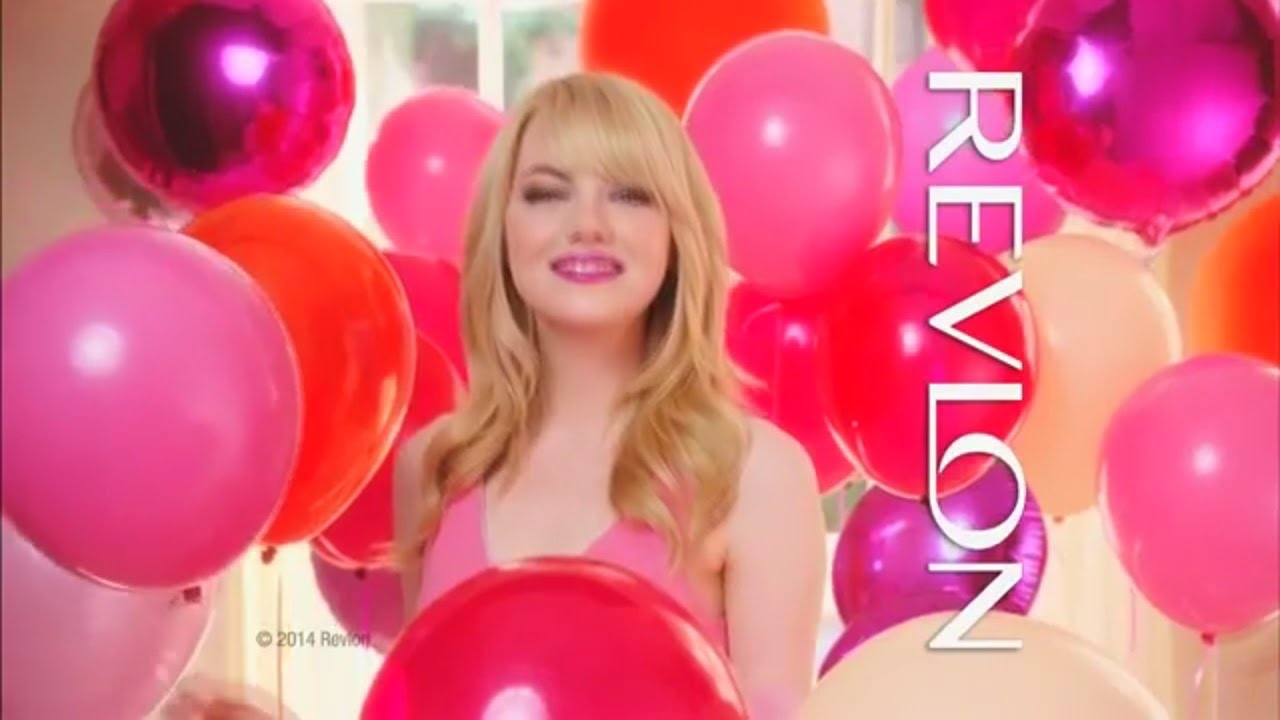 Halle Berry Olivia Wilde and Emma Stone New! Revlon commercial ...