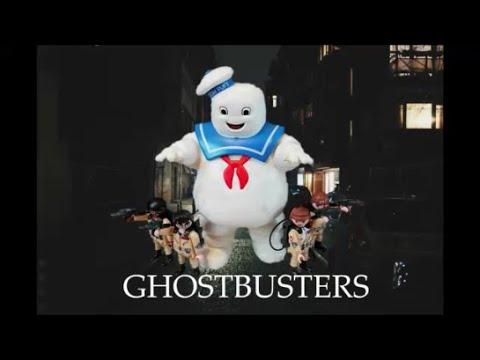 PLAYMOBIL Stay Puft Marshmallo man Scene (English) I Webdough Film