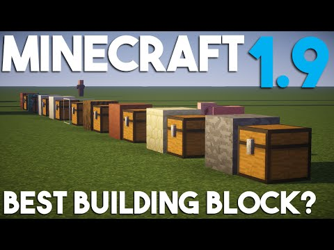 What S The Best Building Block In Minecraft Youtube
