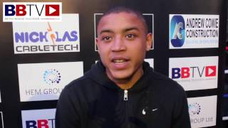 'The Chosen One' Marcel Braithwaite on his next fight May 13th at Fusion