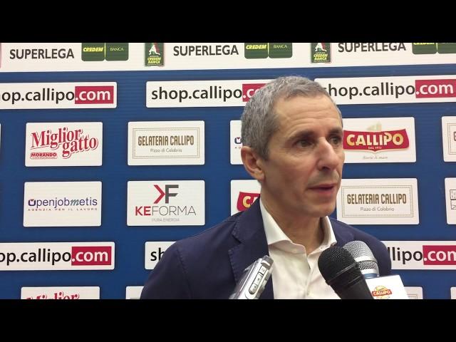 Baldovin dopo Vibo Valentia - Padova 3-1