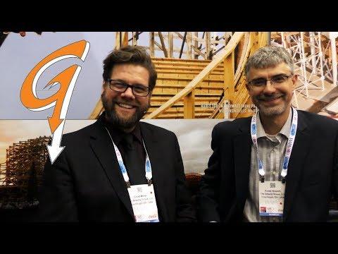 The Gravity Group   Chad Miller & Korey Kiepart Interview at IAAPA EAS 2018