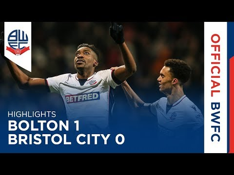 HIGHLIGHTS | Bolton 1-0 Bristol City