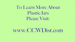 Plastic Jars - Clear Plastic Jars - CCW Products, Inc.