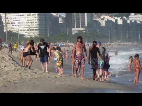 1° Best Beaches in Rio de Janeiro, Brazil Copacabana video Avventure nel Mondo Pistolozzi Marco