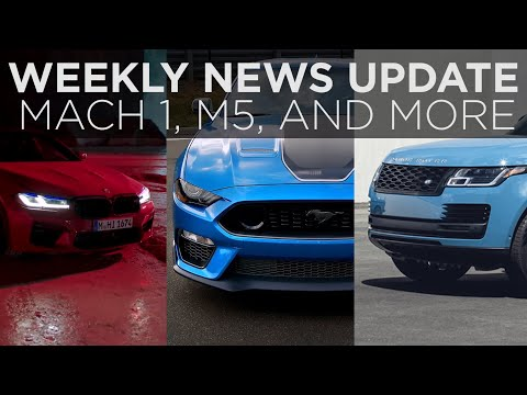 News roundup | BMW M5, Mustang Mach 1, Nissan Rogue, Lexus IS and more | Driving.ca