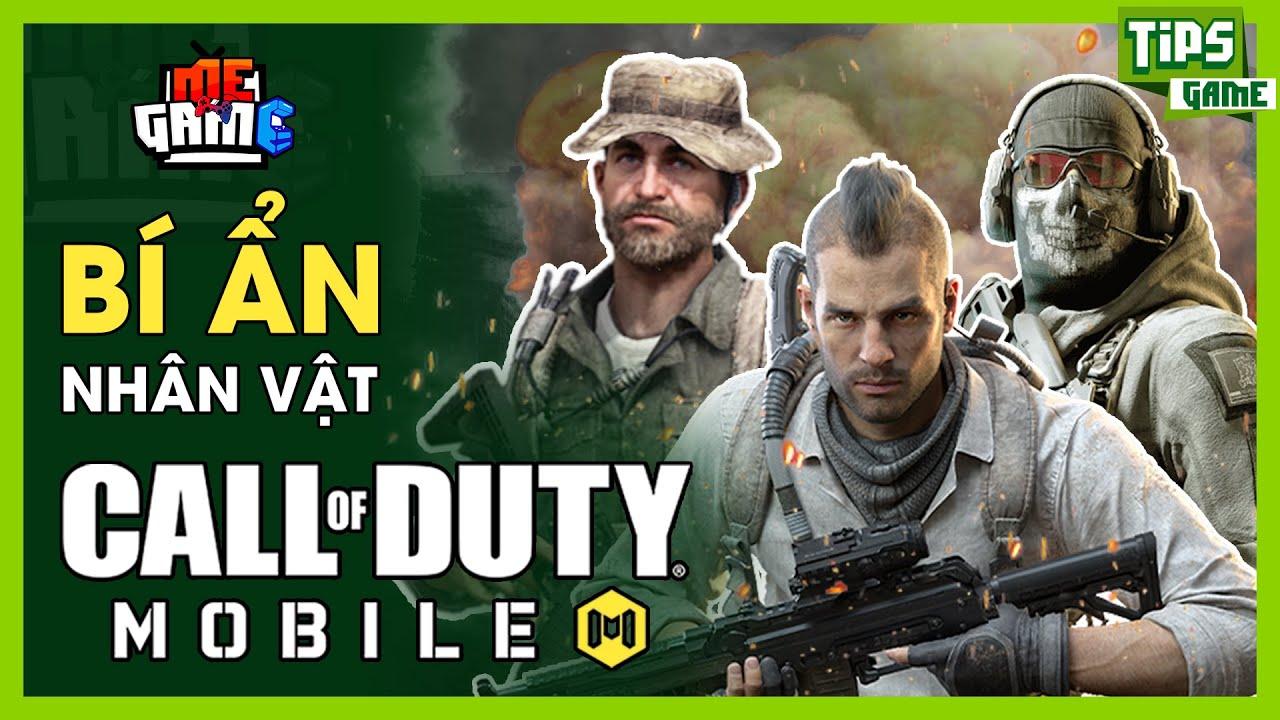 Bí Ẩn Nhân Vật trong Call Of Duty Mobile Việt Nam | meGAME
