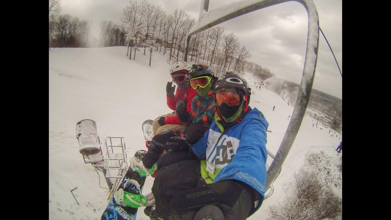boston mills brandywine snowboarding skiing winter break edit 2014 youtube
