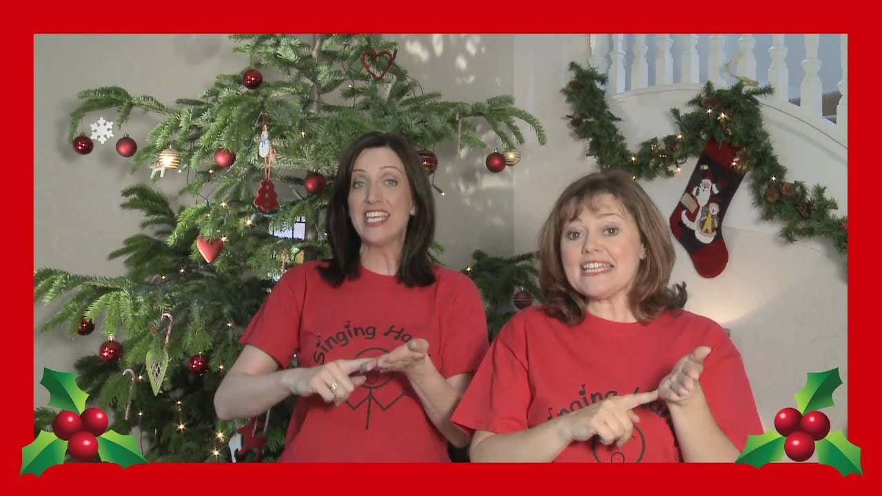 Singing Hands: Christmas Alphabet - Makaton Sign Language - YouTube