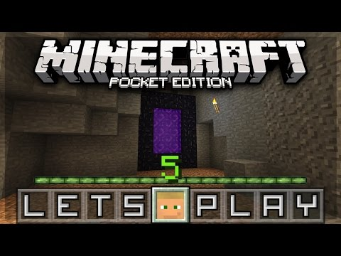 Minecraft PE Let's Play - Episode 5: Cow Tipper