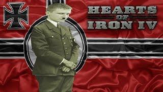 Подготовка к войне. Сетевая партия. Hearts of Iron 4 #3 (1/2)