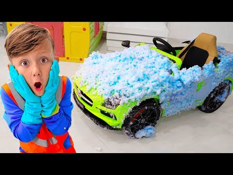 Сеня открыл автомойку и Помог Помыть Грязные Машины