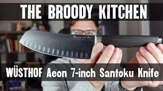 WÜSTHOF Aeon 7-inch Santoku Knife Unboxing
