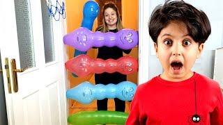KOMİK BALONLAR !! Sado and little Ali playing with Funny Balloons - Funny Kids Video