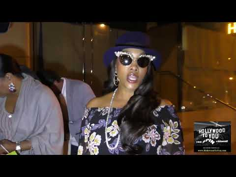 Vivica A  Fox, Lela Rochon and Vanessa Bell Calloway talk about strippers outside Catch Restaurant i