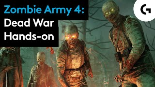 Raining undead? Tanks with RIBS? Zombie Army 4: Dead War hands-on