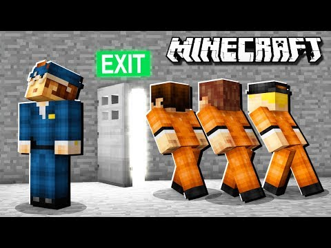Minecraft Hotel - JAILBREAK ESCAPE!