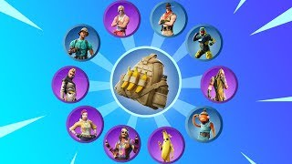 GUESS THE SKIN BY IT'S BACK BLING - Fortnite Battle Royale