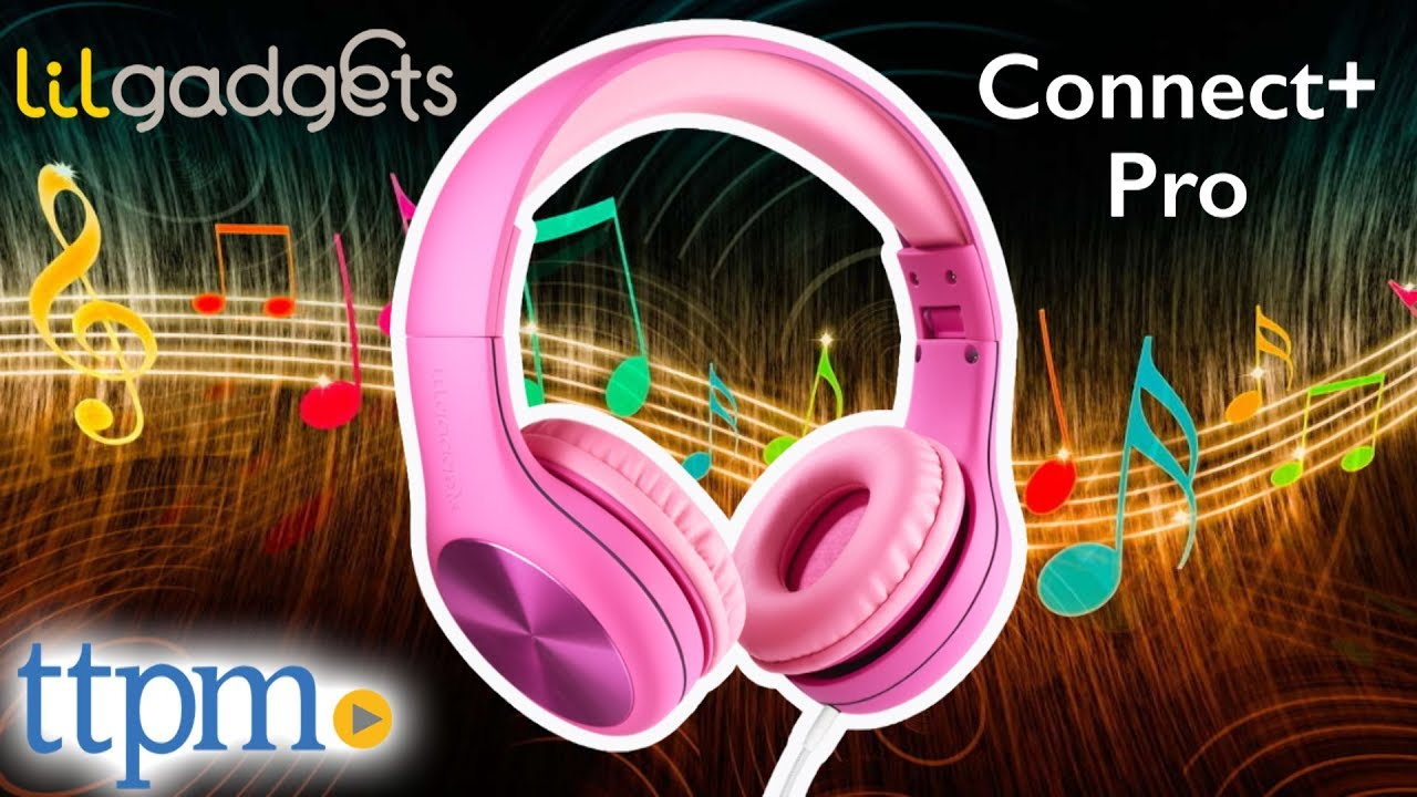 48d96e72283 Connect+ Pro Wired Headphones from LilGadgets - YouTube