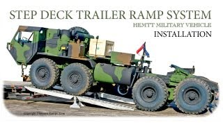 Step Deck Trailer Ramp System - Installation