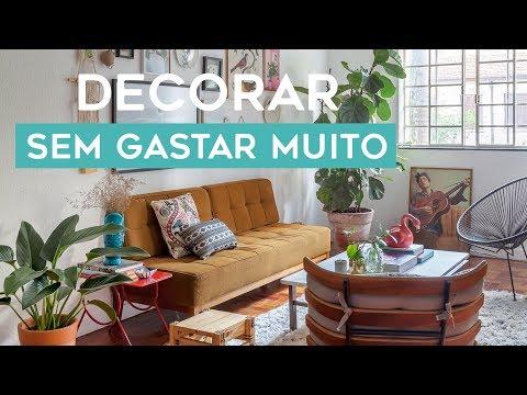 DECORAR SEM GASTAR MUITO | APARTAMENTO ALUGADO COM IDEIAS FÁCEIS E MUITAS PLANTAS