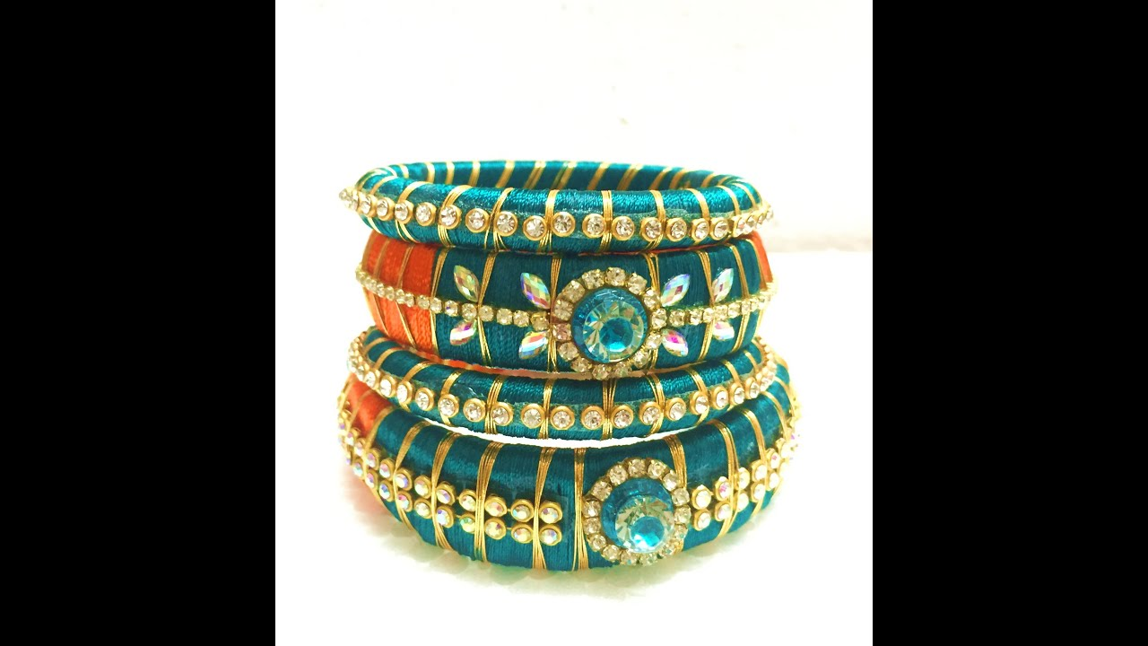 handmade pin bracelets diy silk fashion designer bangles jewelry and on bangle by patel fabric pinterest jewellery parul thread indian