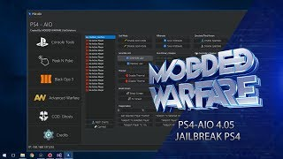 PS4-AIO Release with 4.05 Support & BO3 Mods! (PS4 Jailbreak)