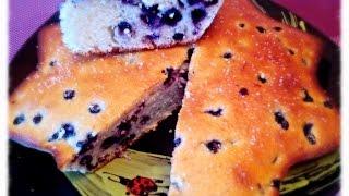 Манник на кефире с ягодкой!Вкуснейшее лакомсво для взрослых и детей!
