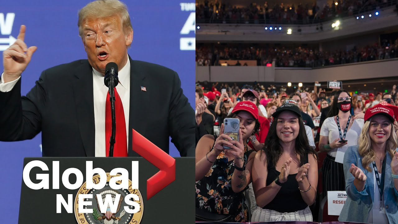 Trump addresses crowd of young Americans at Arizona rally | FULL