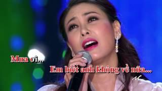 Hà Kiều Anh - Mưa Ơi (Karaoke)