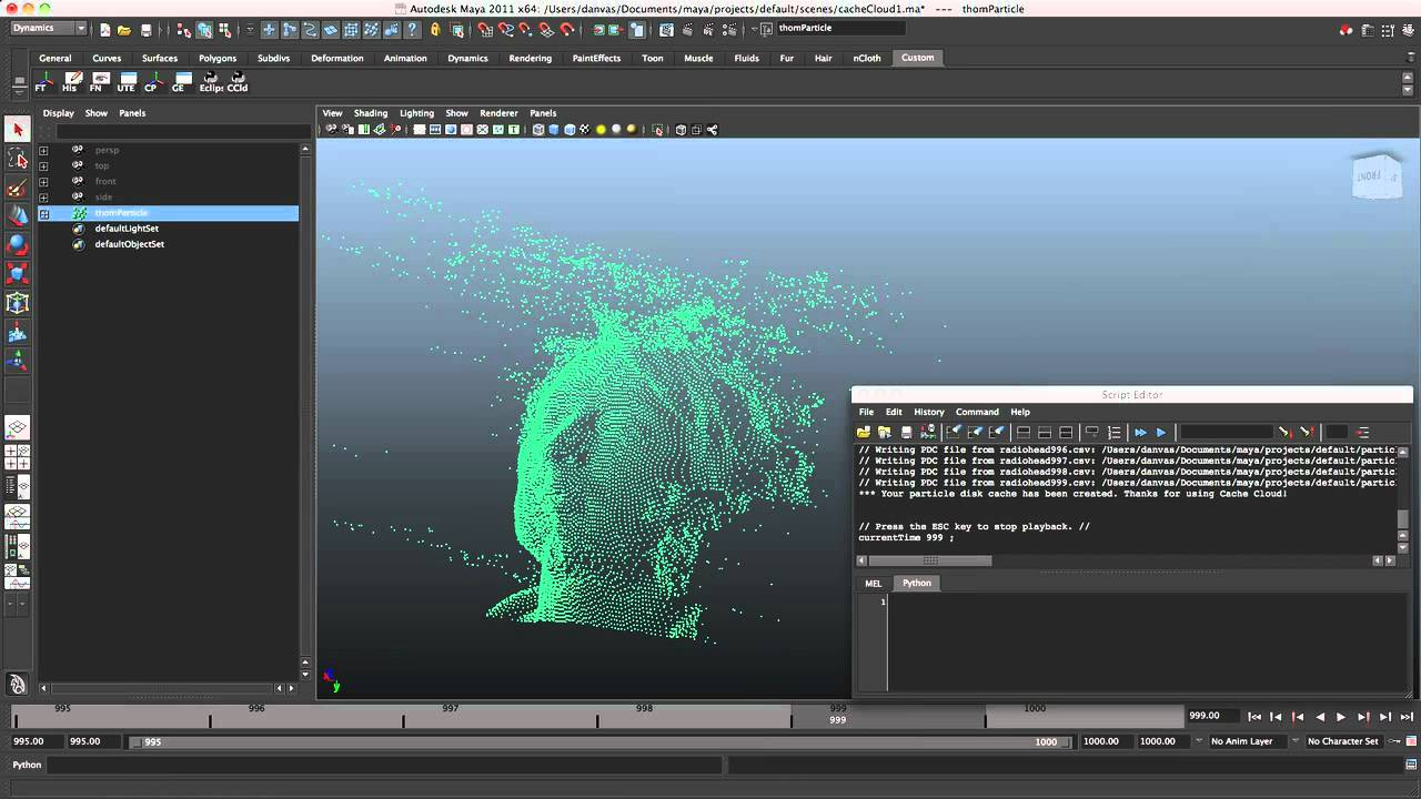 Cache Cloud for Maya