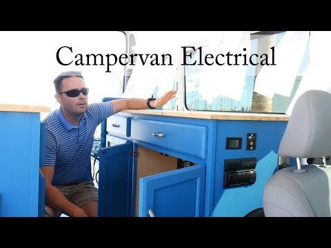 How to build a Campervan: Part 14 - Electrical