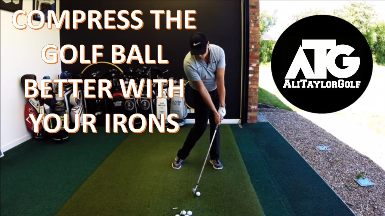 how to hit golf irons better